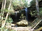 Water fall in Red River Gorge