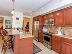 Upscale and Updated Kitchen Makes Dining feel like your home awa
