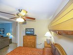 Guest Bedroom with Fun Surfboard Decor