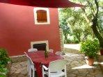 Votre terrasse privative  - Gîte ORIENT - Les Gîtes de Cayenne