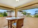 Lanai Off Master Bedroom with Ocean Views