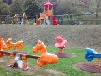 Playground next door.