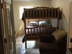 Full size bunk beds (not twin beds)