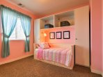The kids will love the twin rooms!