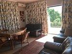 Upper Floor Unit Living Room / Kichenette