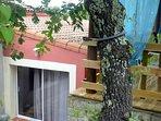 Le Gîte ORIENT - vue d'en haut depuis la piscine  - Les Gîtes de Cayenne