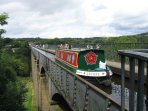 The Thomas Telford Pontcsysyllte Aqueduct Built 1784 Same Year as Baddiley Hall - 40 mins Away