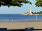 St.Georges' light-house & port. Climb to the top enjoy a boat-trip or a wide variety of water-sports