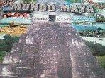Mundo Maya Spanish School $USD180.00; 20 hrs of Spanish tuition, 5 day accommodation  and meals