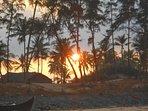 Morning Sunrise at the beach