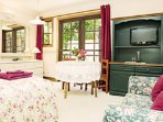 The comfortable and welcoming Garden Suite