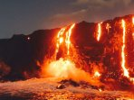 Where the lava meets the sea ~