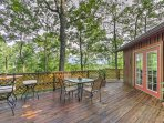 Explore all the best of Tennessee's Pigeon Forge Area from this 2-bedroom, 1-bathroom Sevierville vacation rental cabin.