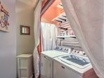 Off the second bedroom, you'll find a washer and dryer for your convenience.