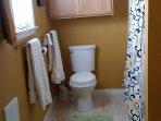 Bathroom with full size tub/shower