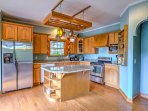 Whip up your favorite foods in the fully equipped kitchen.
