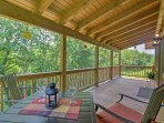 Experience the Smoky Mountains in luxury when you stay at 'Fox Ridge Cabin!'