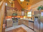 Cooking at home will be a breeze in this kitchen.