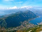 Take the mountain road from Kotor for this magnificent view