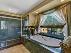 Master Bath and Separate Shower