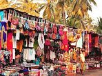 Shopping at Calangute market