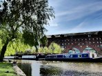 Take a stroll along the Bridgewater Canal at  Castlefield basin.