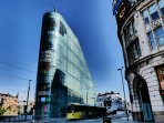 Enjoy the Urbis Building, home of The National Football Museum for FREE.