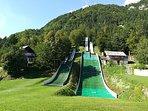 Village ski jump