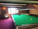 Full Sized Antique Snooker Table
