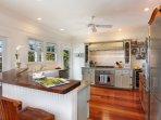 Kitchen with Viking oven/range