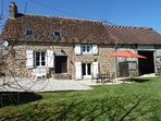 ALL INCLUTED FARM TO RENT FOR A VACATION IN THE NORMANDY FRANCE/FISHING-PARADISE
