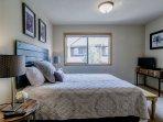 Flatscreen TV in third bedroom
