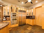 Enjoy the large fully equipped kitchen, perfect for entertaining.