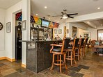 Enjoy having drinks and watching sports from the large bar area. Hold a dart tournament with friends