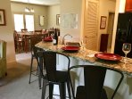 Large and clean unit with a cozy, cabin feel in the heart of Maggie Valley. Make some memories here!