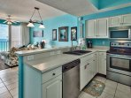 Majestic Sun 403B - Kitchen Featuring Stainless Steel Appliances