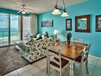 Majestic Sun 403B - Combined Living and Dining With Gulf Views