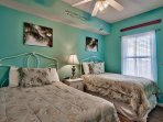 Majestic Sun 403B - Guest Bedroom With Two Full Beds