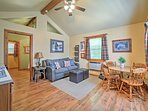 Escape to Branson at this impressive vacation rental cabin!