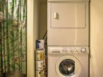 Freshen up your clothes from the in-unit laundry machines!