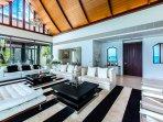 Villa Paradiso Naithon Beach Phuket - Living Area