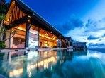 Villa Paradiso Naithon Beach Phuket - By Night
