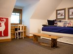 Loft area w/twin daybed and twin trundle.