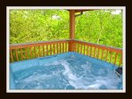 hot tub \ upper deck