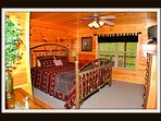 2 of 2 bedrooms \ king bed \ lower level