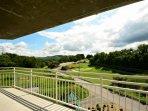 Enjoy a great view anytime of the year at Golf Vista Condos!