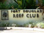 Port Douglas Reef Club front entrance