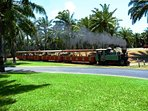 BallyHolly historic steam train in Port Douglas