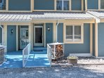 A relaxing retreat awaits you at this 3-bedroom, 3-bathroom vacation rental townhome in Cloudcroft, New Mexico.
