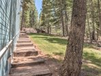 Nestled in a woodland forested area, this property will give you the ultimate feelings of the great outdoors.